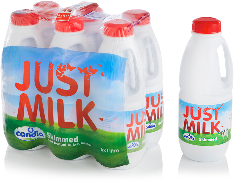 Skimmed UHT milk