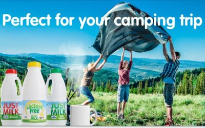 Enjoy JUST MILK any time, any place, anywhere!