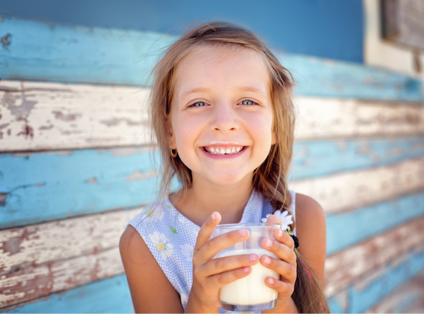 Young people are loving the benefits of milk