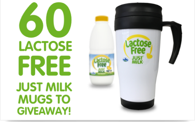 JUST MILK Lactose Free Mug Winners