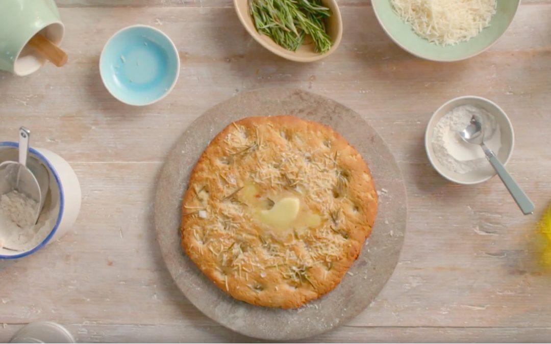 Rosemary and Garlic Focaccia flat bread