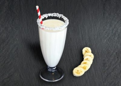 Banana & Coconut Milk Shake