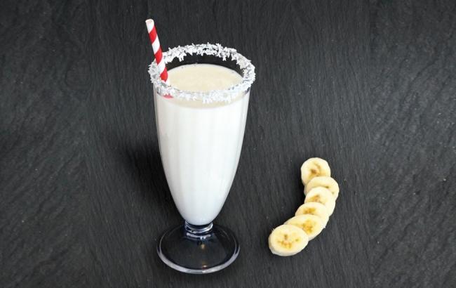 Banana & Coconut Milk Shake