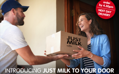 Introducing a new way to stock up with JUST MILK!