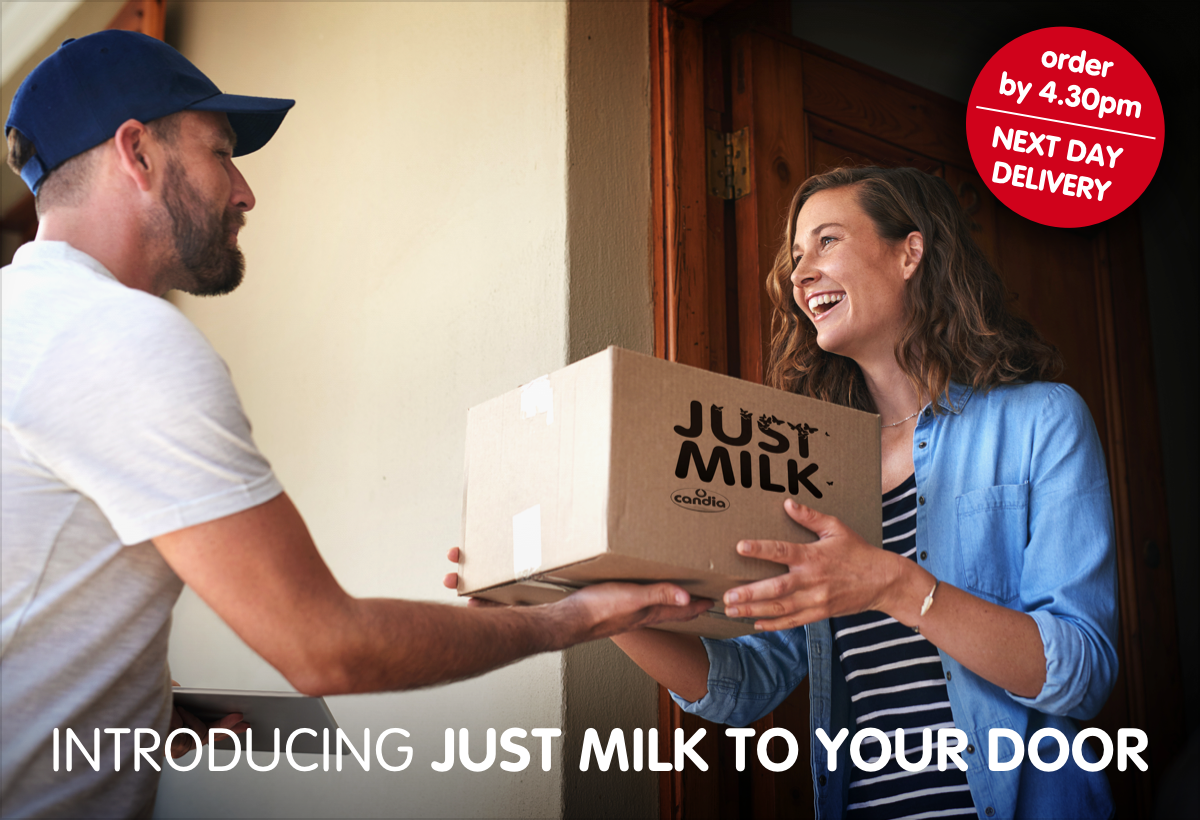 Introducing JUST MILK direct to your door