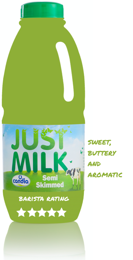 How the experts rated Semi Skimmed JUST MILK as an accompaniment to coffee