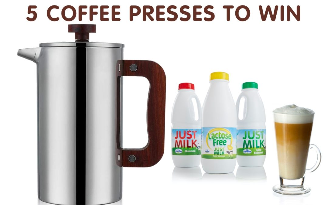 Competition to win one of five Coffee Presses