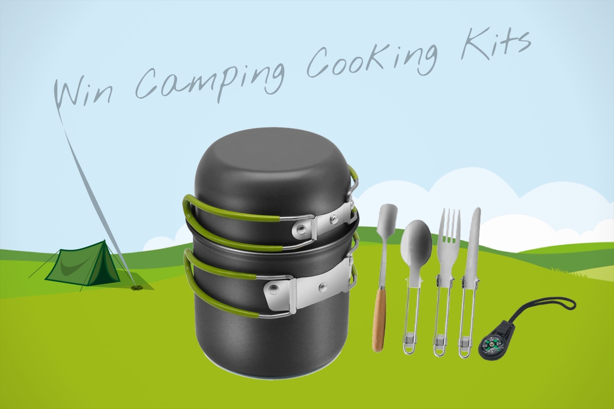 Continuing our Summer Staycation theme, we have 5 Camping Cooking Kits to giveaway.  Each of these compact little packs contains - a non-stick pan x 1 and pot x 1, stainless steel foldable knife x 1/ fork x 1/spoon x 1, coffee spoon x 1 and compass x 1, Dishcloth x 1, Mesh storage bag x 1. Perfect for that late summer camping trip. Just don't forget to pack your JUST MILK for your morning brew.